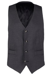 Tiger Of Sweden Jeds Suit Waistcoat Dark Grey Dark Gray