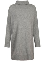 Seasalt Neap Tide Roll Neck Jumper Dress Grey