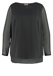 Triangle By S.Oliver Blouse Black