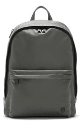 Vince Camuto Men's 'Tolve' Leather Backpack Grey Gunmetal