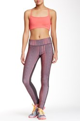 Steve Madden Linear Print Run Tight Pink