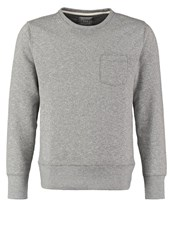 Gap Sweatshirt Heather Grey Mottled Grey