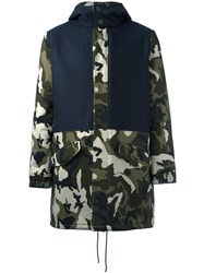 Lc23 Camouflage Print Parka Green