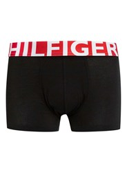 Topman Tommy Hilfiger Black And Red Trunks Multi