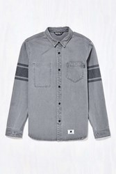 Undefeated Lineman Button Down Shirt Grey