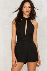 Keyhole To My Heart Cutout Romper