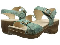 Sanita Deena Turquoise Women's Shoes Blue