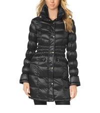 Michael Kors Quilted Puffer Jacket Black