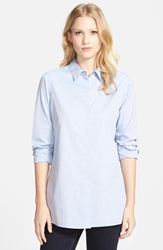 Foxcroft Colorblock Tunic Shirt Bluewave