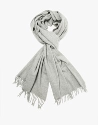 A.P.C. Polska Scarf In Heather Grey