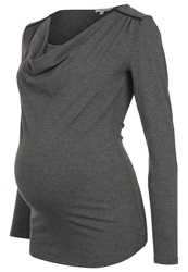 Noppies Hada Long Sleeved Top Antrazit Mottled Anthracite