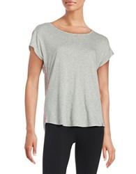 Marc New York Cowl Back Athletic Top Grey