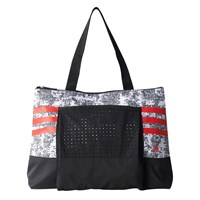 Adidas Graphic Gym Tote Bag Black White