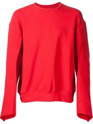 Y Project 'Articulated Pullover' Sweatshirt Red