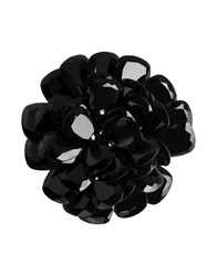 First People First Jewellery Brooches Women Black