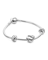 Pandora Design Pandora Filled With Love Bracelet Gift Set Silver
