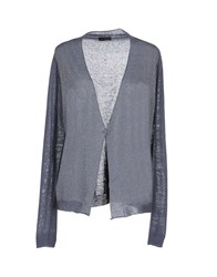 Peserico Knitwear Cardigans Women Dove Grey