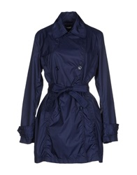 Divina Full Length Jackets Blue