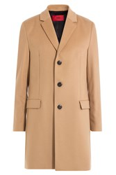 Hugo Virgin Wool Coat With Cashmere Gr. Eu 50