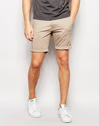 Selected Homme Chino Shorts Sand Beige