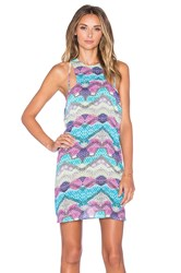 Minkpink Endless Summer Mini Dress Blue
