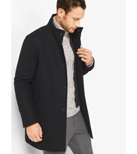 Wool Melton Car Coat