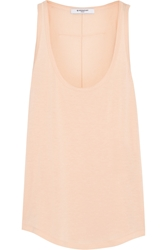 Givenchy Tank In Peach Jersey