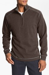 Men's Cutter And Buck Regular Fit Quarter Zip Sweater Monarch