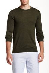 Bonobos Yorkshire Crew Wool Slim Fit Sweater Green