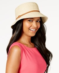 Nine West Packable Microbrim Hat Light Tan