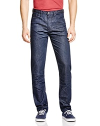 Blank Standard Straight Fit Jeans In Indigo