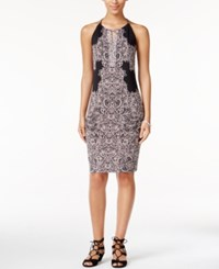 Inc International Concepts Petite Printed Halter Dress Only At Macy's New Pale Blush