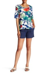 Tommy Bahama Two Palms Linen Short Blue