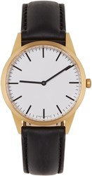 Uniform Wares Gold And Black C35 Watch