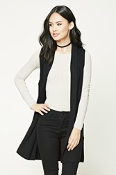 Forever 21 Shawl Collar Sweater Vest