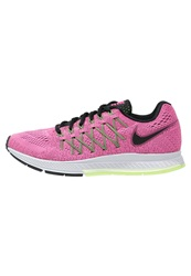 Nike Performance Air Zoom Pegasus 32 Cushioned Running Shoes Pink Pow Black Beryl Violet Ghost Green