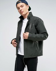 Franklin And Marshall Coach Jacket Military Green
