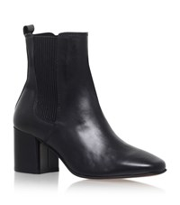 Carvela Kurt Geiger Schubert Mid Heel Ankle Boots Female Black
