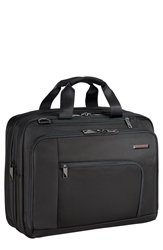 Briggs And Riley 'Verb Adapt' Expandable Briefcase Black