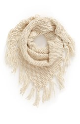Women's Bp. Chunky Knit Triangle Scarf