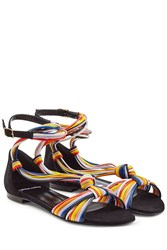 Pierre Hardy Leather Sandals Multicolor