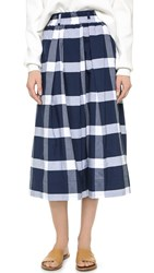 One By Kowtow Things In Common Culottes Plaid