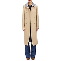 Gabriela Hearst Women's Reversible Double Breasted Trench Coat Tan