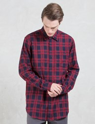 Superism Jace Button Up L S Flannel Shirt