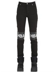 Hba Hood By Air Hockey Stripe Cotton Twill Jeans