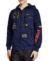 Eleven Paris Magala Zip Hoodie Compare At 155 Navy