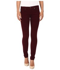 Ag Adriano Goldschmied Leggings In Wine Wine Women's Jeans Burgundy