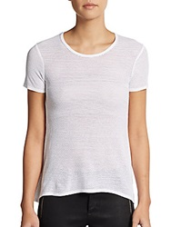 Bailey 44 Spike Perforated Tee White