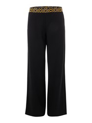 La Fee Maraboutee Wide Loose Fit Trousers Black