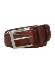 Barbour Gift Boxed Leather Belt Dark Brown